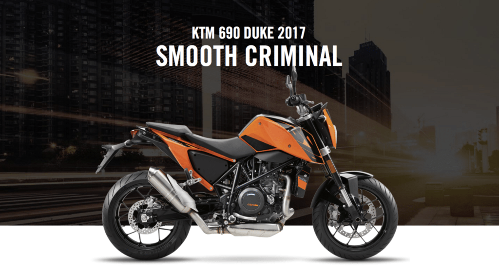 smooth criminal: 690 DUKE © KTM