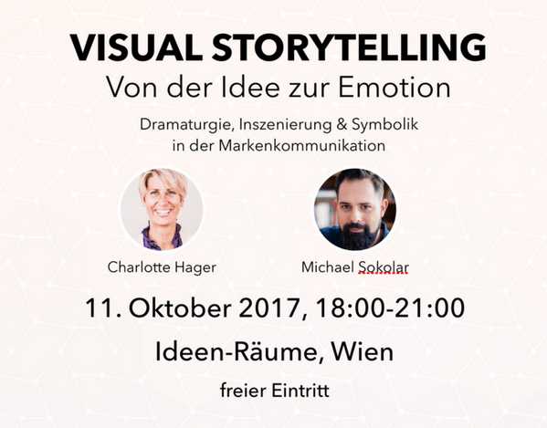 Workshop zu Visual Storytelling mit Charlotte Hager und Michael Sokolar