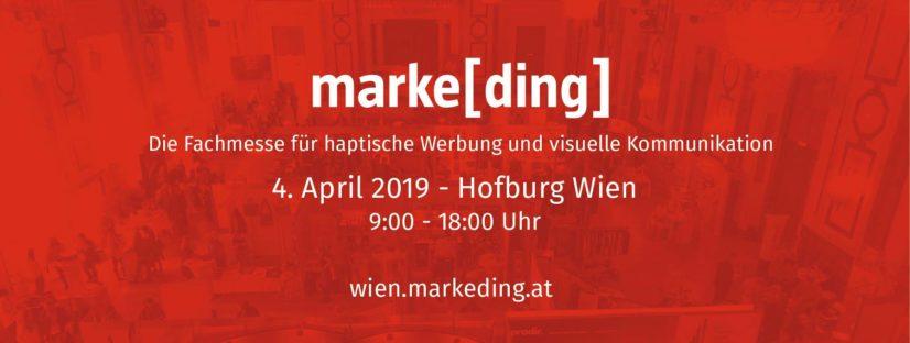 marke[ding] Fachmesse für haptische Werbung
