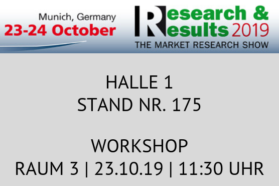 Research & Results Messe