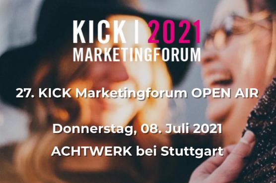 KICK | 2021 Marketingforum OPEN AIR